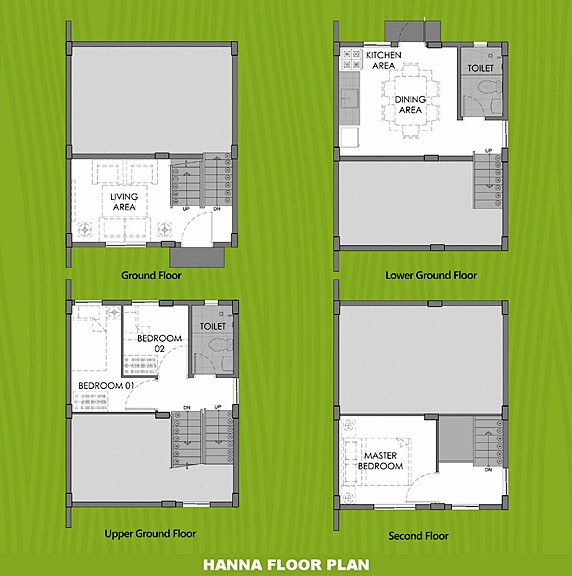Hanna Floor Plan House and Lot in Aklan