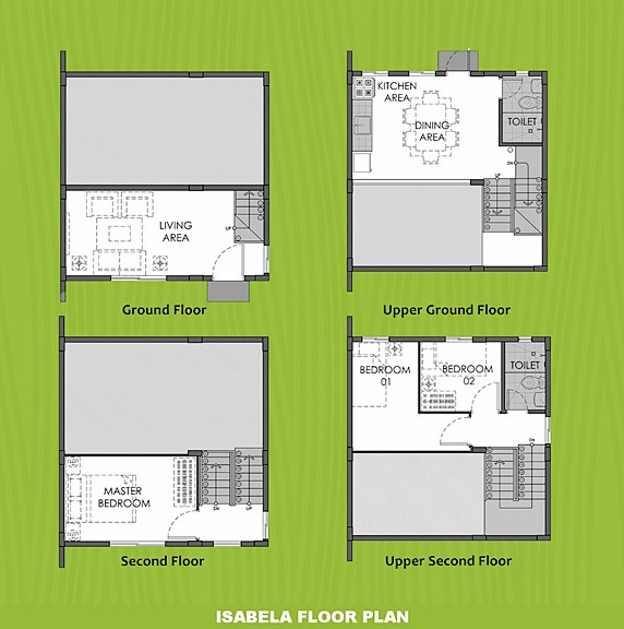 Isabela Floor Plan House and Lot in Aklan