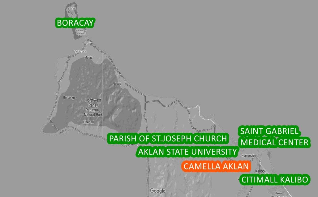 Aklan Property Vicinity Map