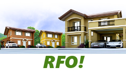 RFO Units for Sale in Camella Aklan.